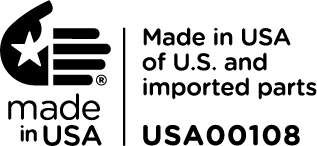 Made in USA of U.S. and Imported Parts